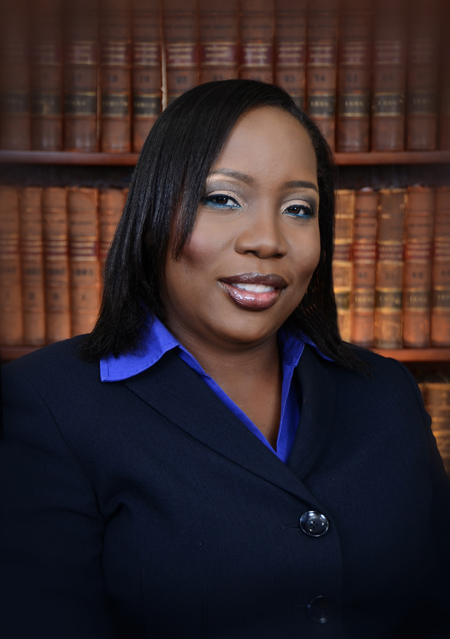 Sharon Rhaming-Rolle of Halsbury Chambers